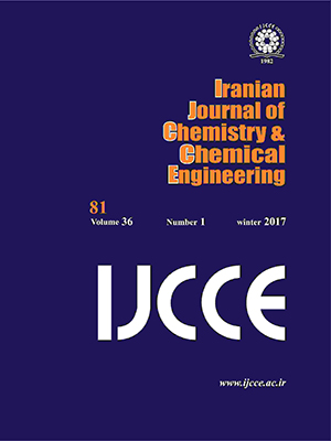 Iranian Journal of Chemistry and Chemical Engineering (IJCCE)